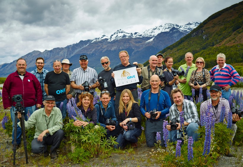 The New Zealand PODAS group Photo, 2012