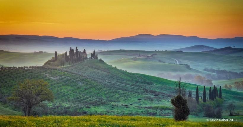 A Tuscany Sunrise