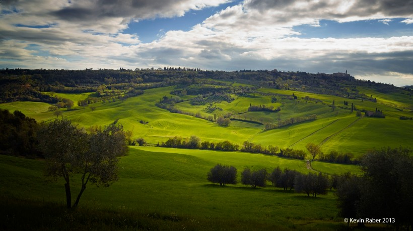 The Classic Tuscany Landscape