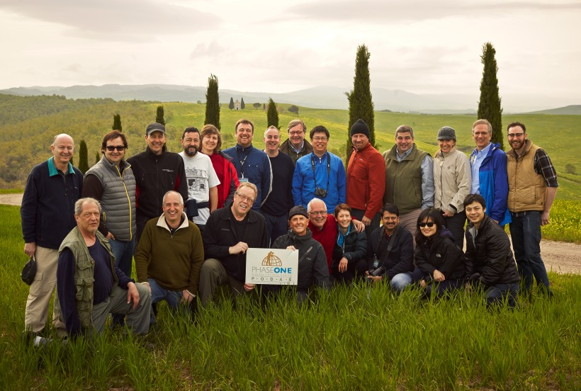The PODAS Tuscany 2013 Group Photo